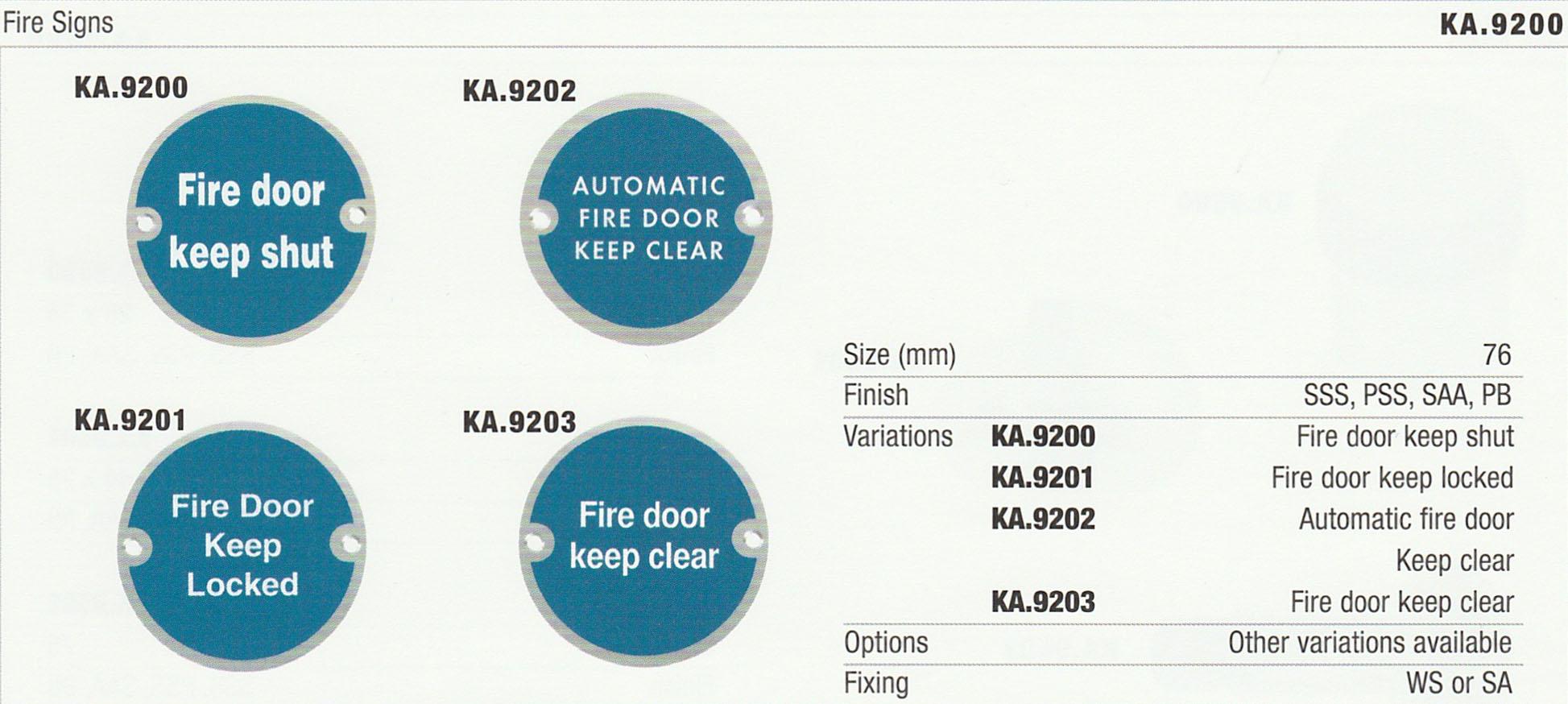 Accessories - Door Furniture - KCC on