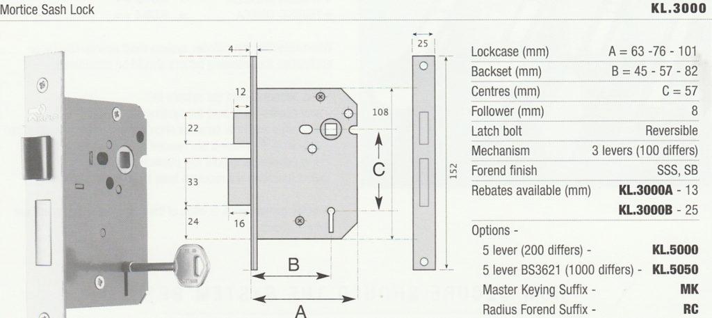 KCC FOCUS™ Mortice Locks