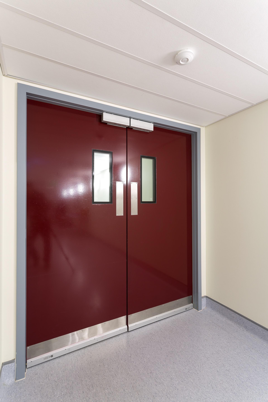 Residential Fire Doors : Steel doors kcc