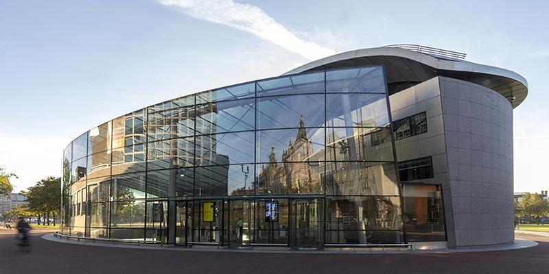 MHB steel profiles on the Van Gogh Museum