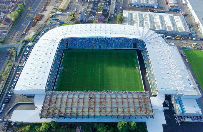Kcc Supply Install Products For Redevelopment Of Windsor Park