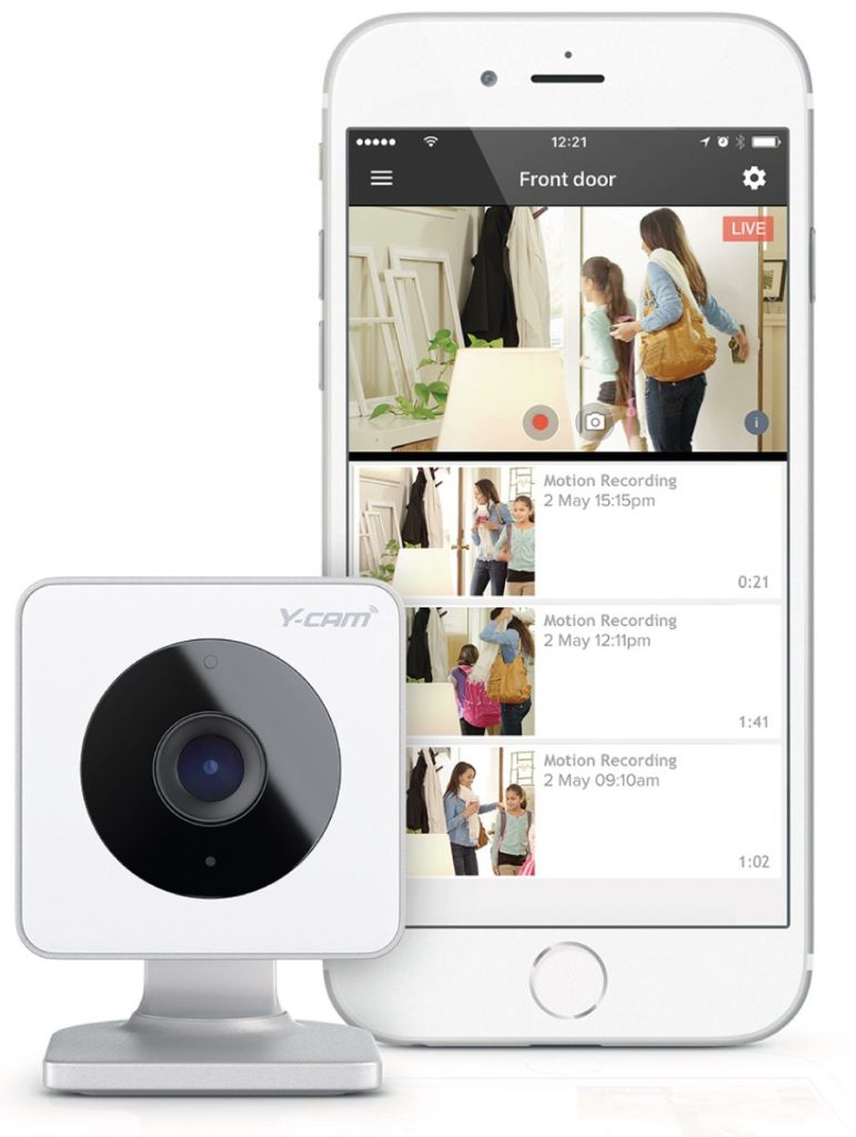 Y-cam home security camera